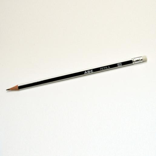 ABC Petra Pencil with eraser (pack of 12)
