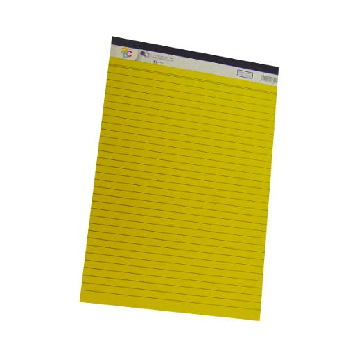 Writing pad yellow A4