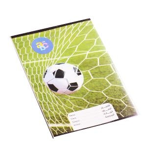 Sleeved notebook English 60 pages