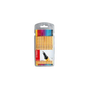 STABILO point 88 pen - pack of 10 colors
