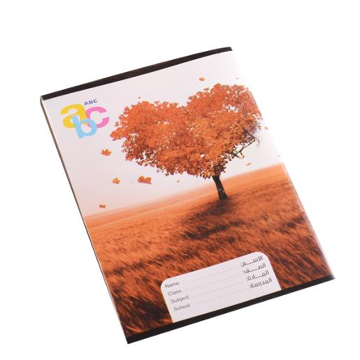 Sleeved notebook English 40 pages