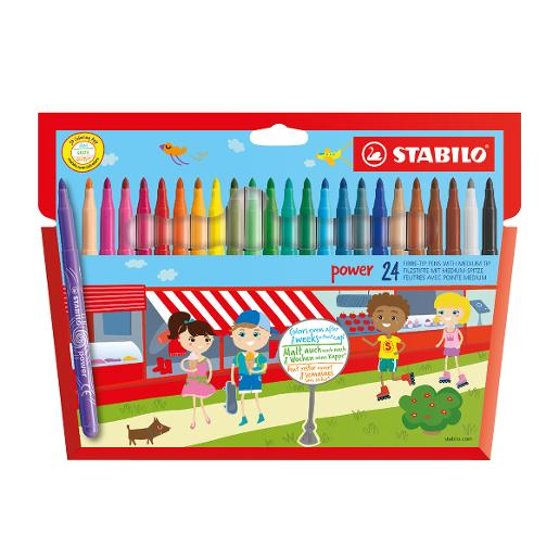STABILO Power - Coloring Pen (pack of 24)