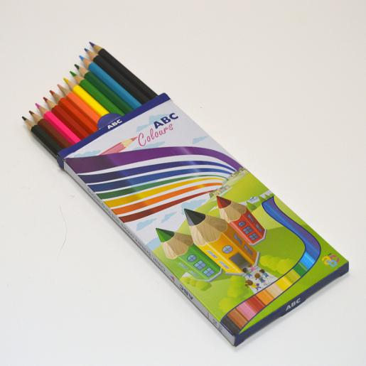 ABC colored pencils (Pack of 12)