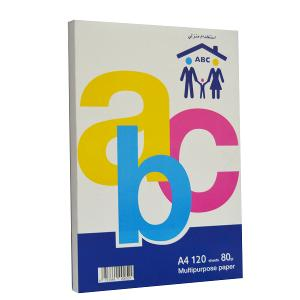 ABC Copy Paper, A4, household 120 sheets, 80g