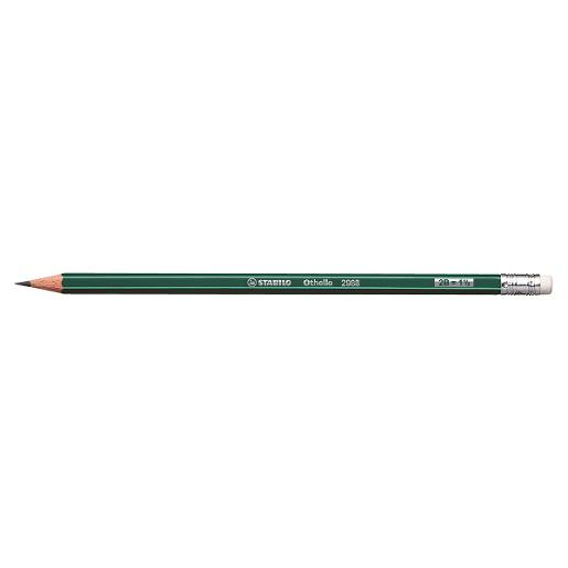 STABILO Othello Pencil with eraser (pack of 12)