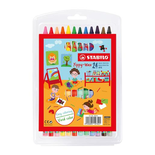 STABILO Yippy-Wax Coloring (pack of 24)