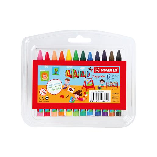 STABILO Yippy-Wax Coloring (pack of 12)