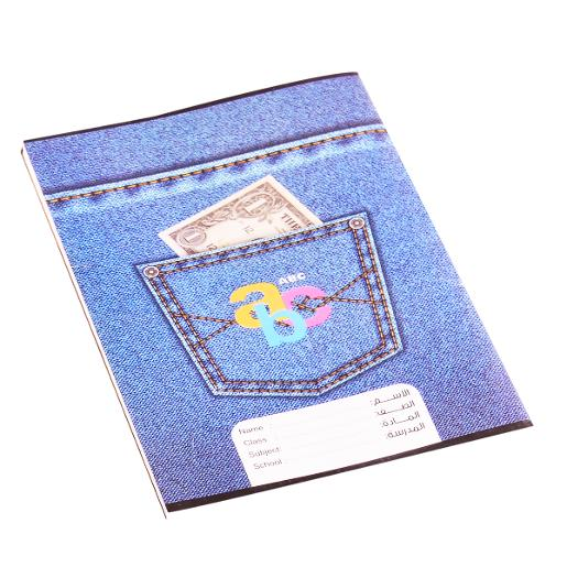 Sleeved notebook English 80 pages